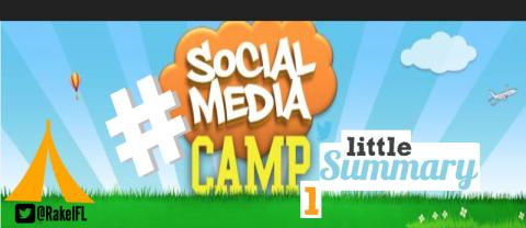 #socialmediacamp summary, infografía by Rakel Felipe.