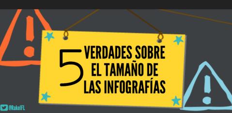5 Verdades sobre el Tamaño de las Infografías, by Rakel Felipe