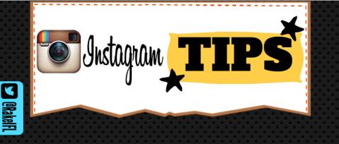 Instagram TIPS, infographic by Rakel Felipe