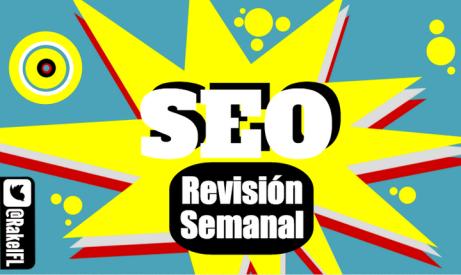 SEO REVISIÓN SEMANAL, infographic by Rakel Felipe