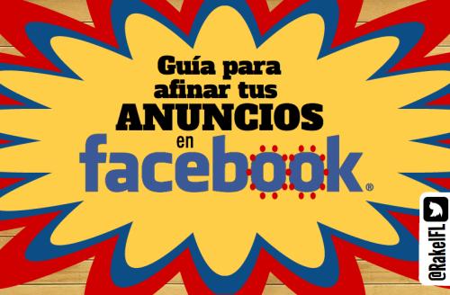 Guía para afinar tus anuncios en Facebook, infografia de Rakel Felipe