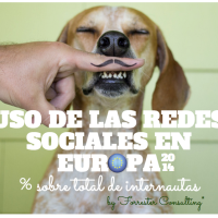 Uso de las Redes Sociales en Europa