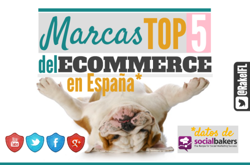 Las 5 Marcas Top del Ecommerce en España (by @RakelFL)