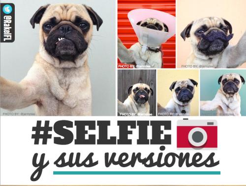 El selfie y sus 21 versiones (by @RakelFL)