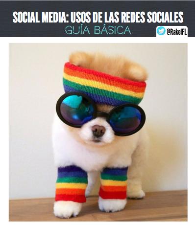 Usos de las redes sociales, (by @RakelFL)