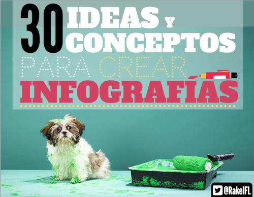 30 Buenas Ideas para crear infografías, by @RakelFL interesantes