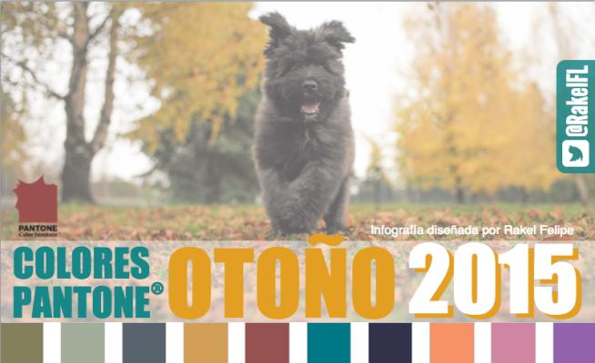 Colores Pantone Otoño 2015, by Rakel Felipe