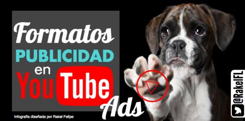 Formatos de publicidad en YouTube, by @RakelFL