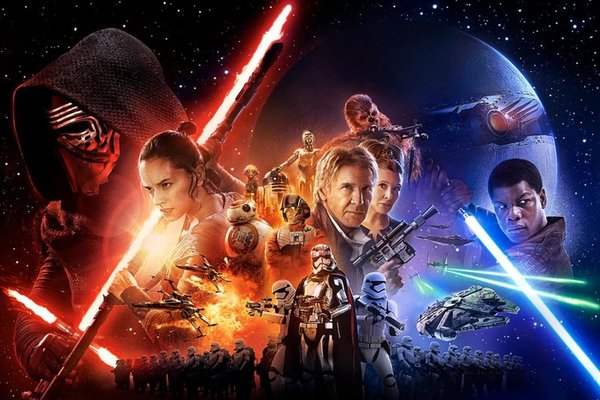 Star Wars The Force Awakens para blog