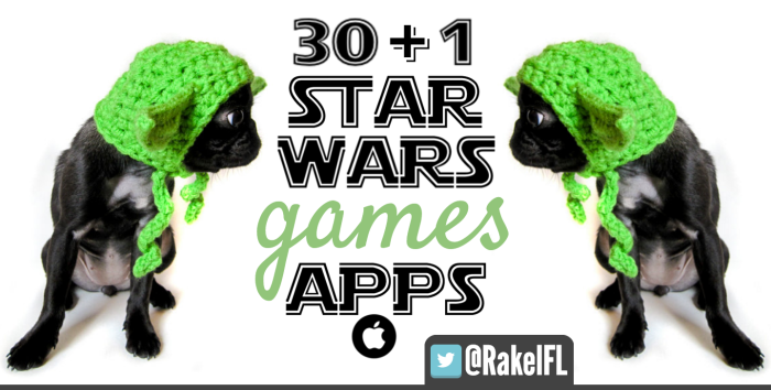 Star Wars Juegos y APPs by Rakel Felipe (portada)