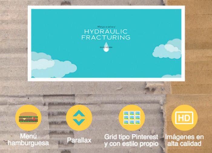 Tendencias Diseño Web 2016 Patrones IU by Rakel Felipe