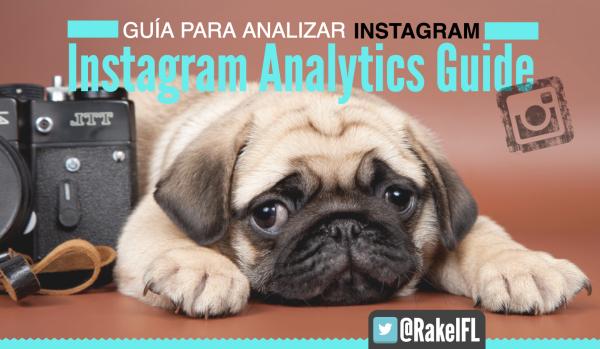 Guía para analizar Instagram by Rakel Felipe (portada)